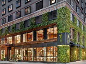 Green Wall Landscaping at Hotel 1