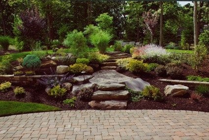 Landscape Design for a Hillside