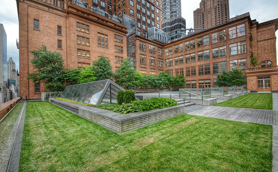 Carnegie Hall Weill Terrace Green Roof