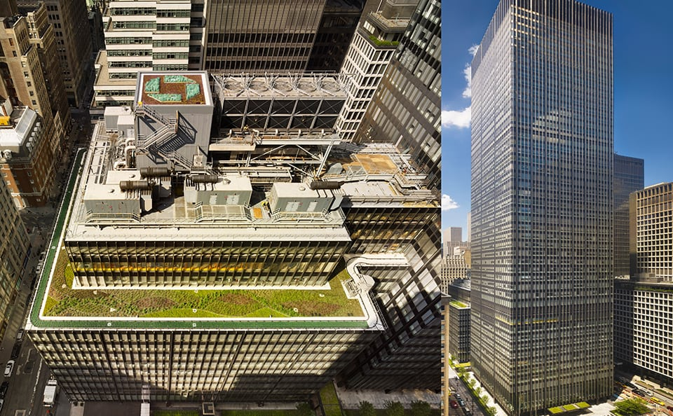 Green Roof - JP Morgan Chase