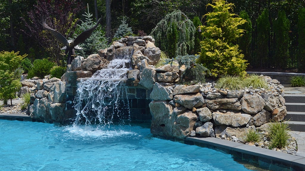 Pool Waterfall with Grotto
