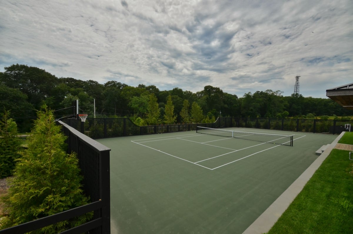 Private Custom Tennis Court