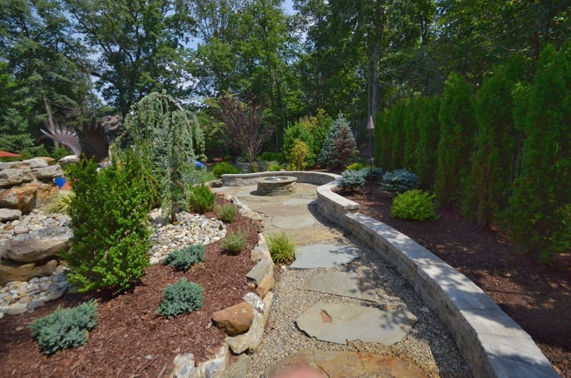Rocks Or Mulch For Residential Landscaping Sponzilli