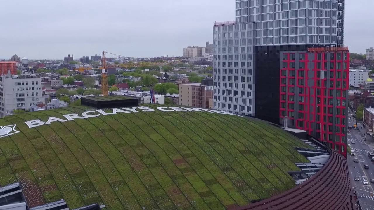 Green Roof over Barclays Center