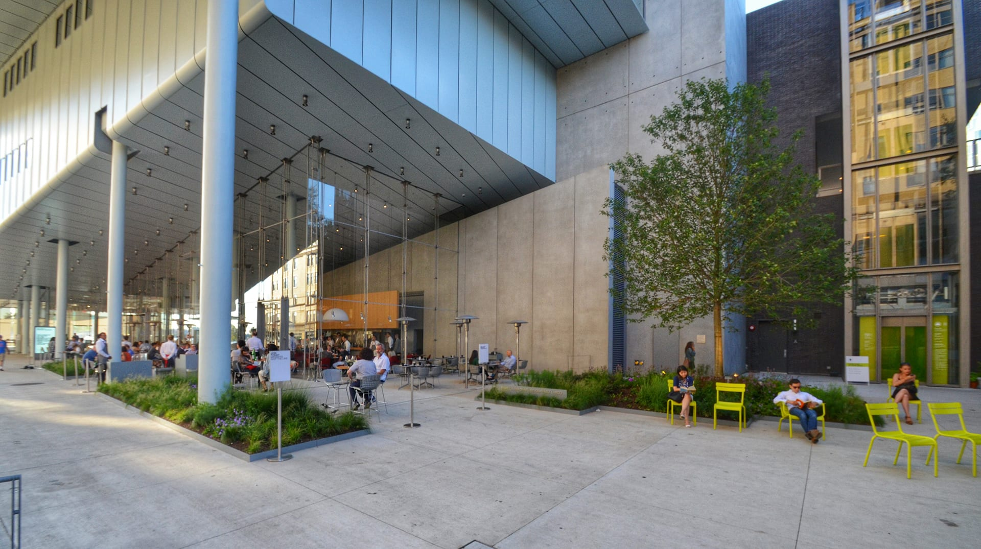 Whitney Museum of American Art Outdoor Space