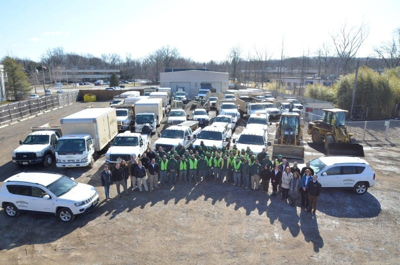 Sponzilli Landscape Group Employees and Equipment