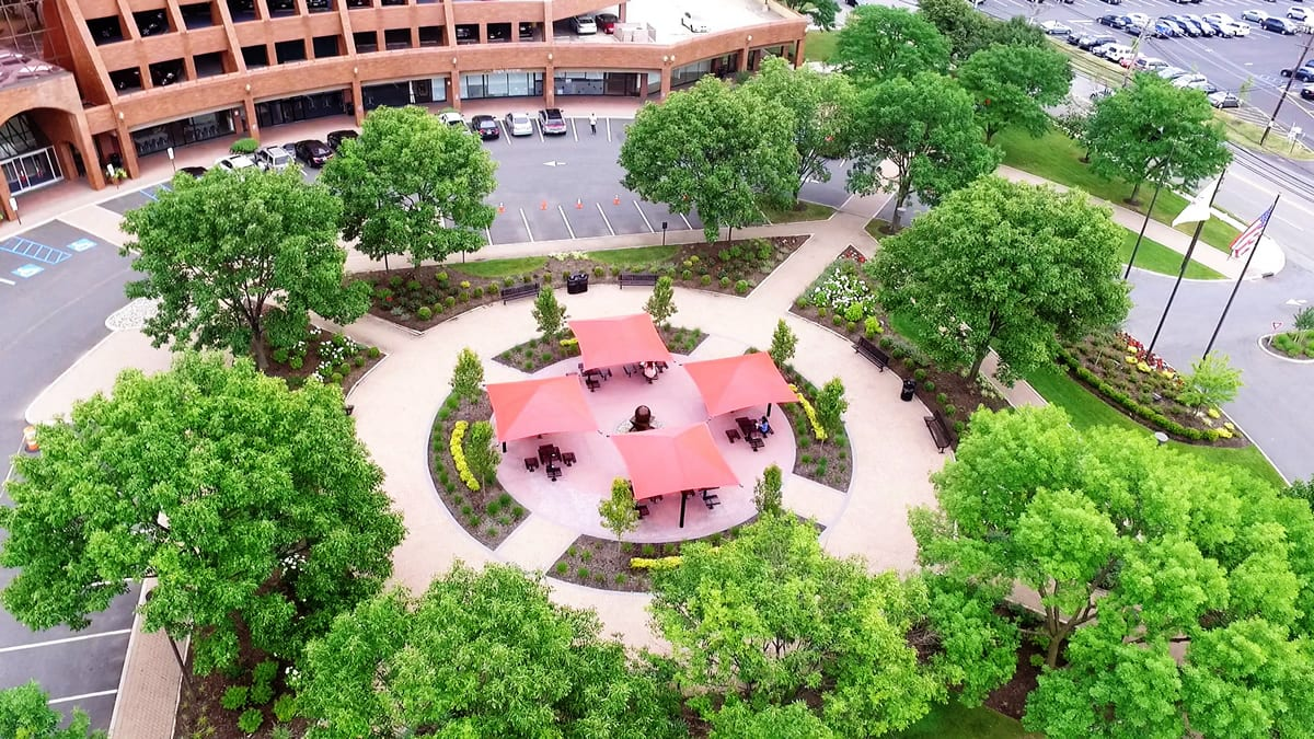 Aerial View of Courtyard at 9 Polito Lyndhurst NJ