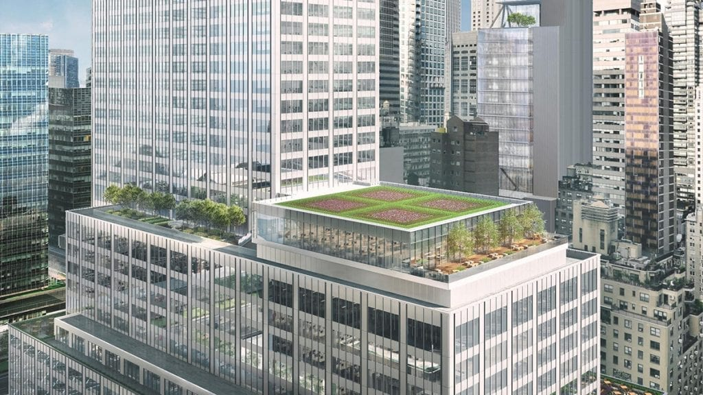 Green Roof by Sponzilli at 399 Park Avenue