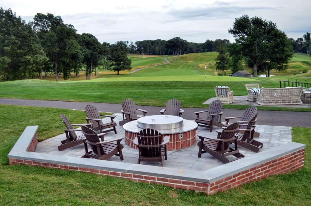 Landscaping at Essex County Country Club NJ