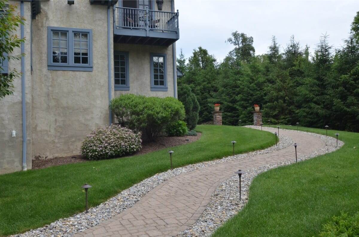 Finished Walkway to Front of Home