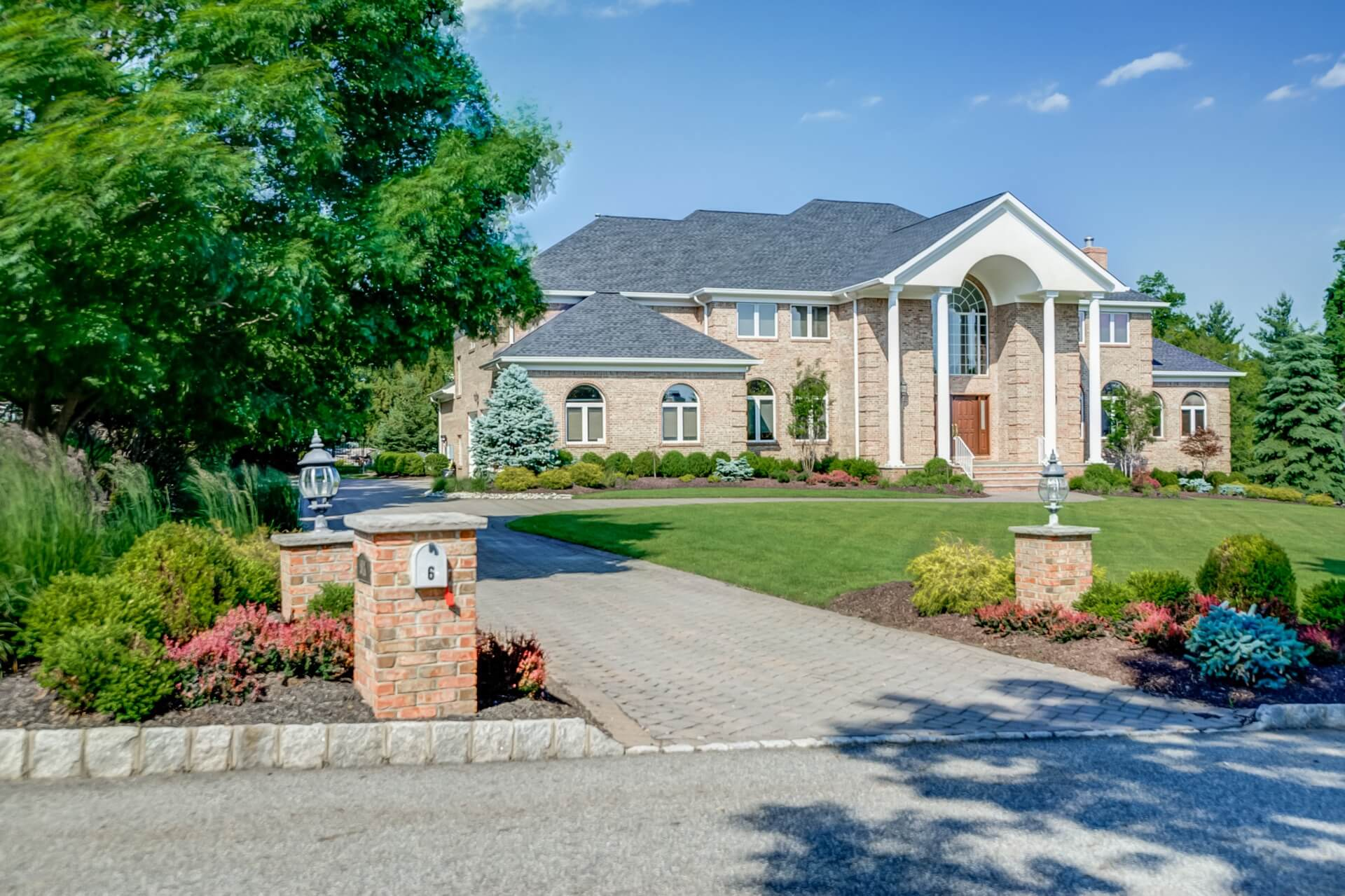 Landscaping with curb appeal