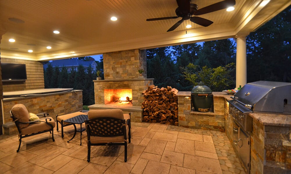 Outdoor Living Spaces Design And Landscaping Nj