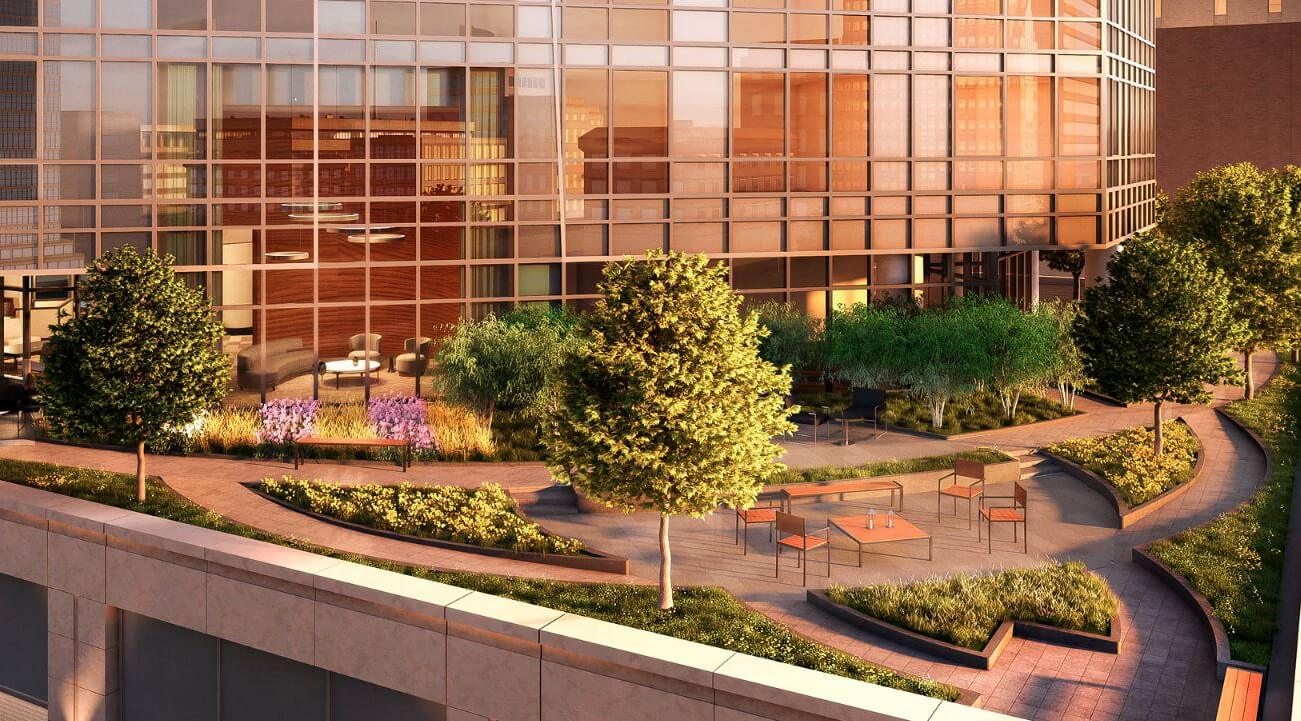 One Sixty Madison Rooftop Terrace Landscaping