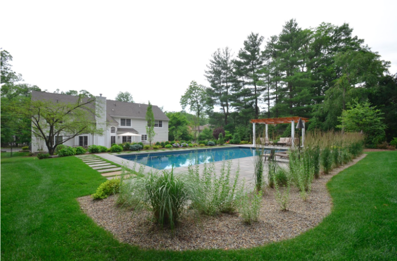 landscape architecture, types of landscaping, landscape designer, backyard, garden, modern, stone, residential, pool