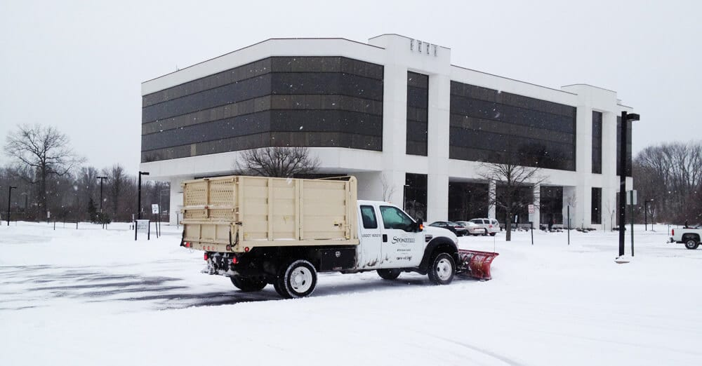 Professional snow removal services, benefits of professional snow removal, snow plowing, landscaping, removal contractor
