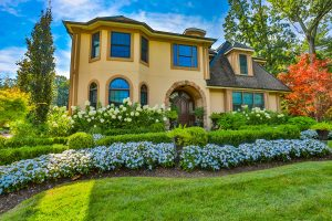 Beautiful Landscaping and Home in North Caldwell NJ