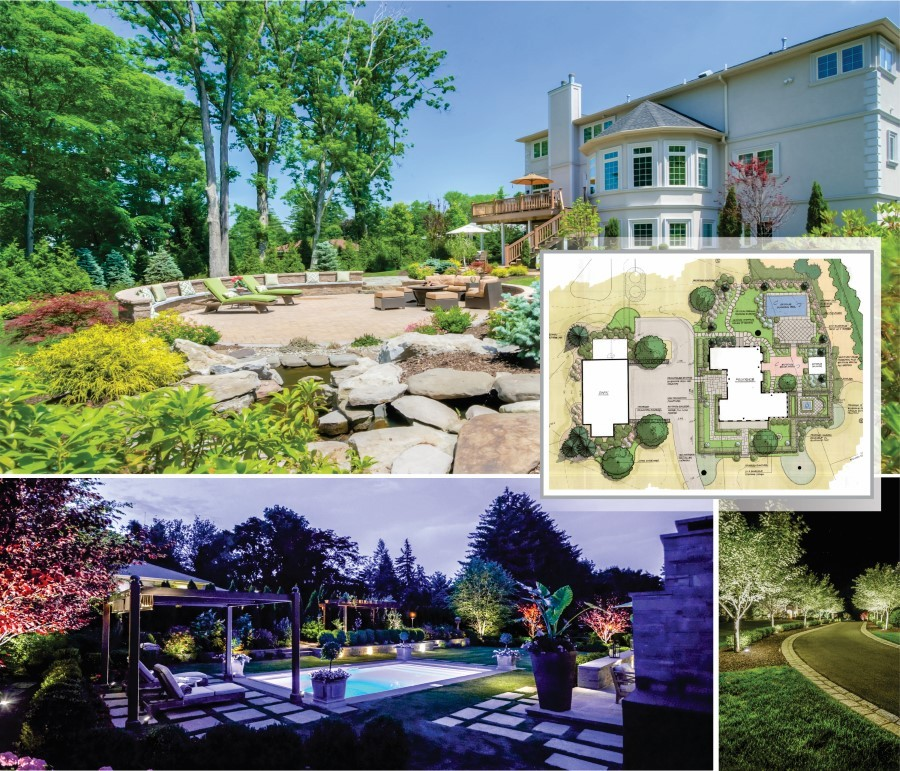 Sponzilli landscaping group contest in it to win it for Award winning landscape architects