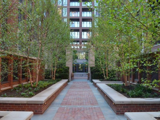 West Village Residences NY Courtyard Gardens