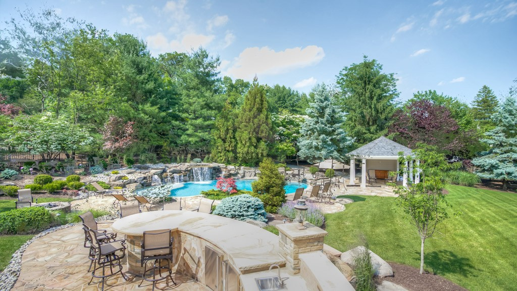 Residential Outdoor Living Space, North Caldwell, NJ ...