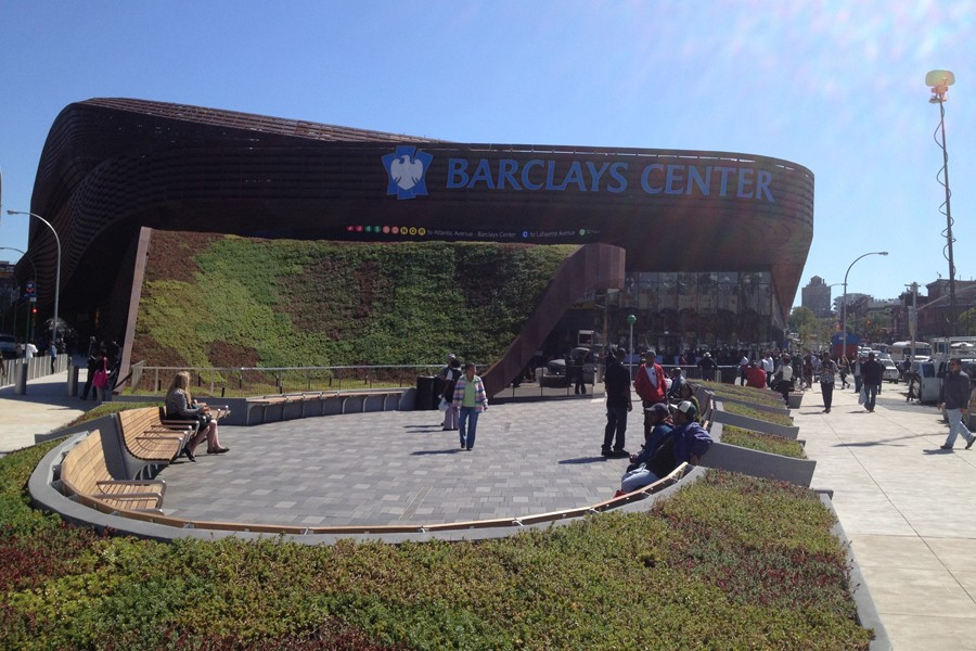 Barclays Center Landscaping Project