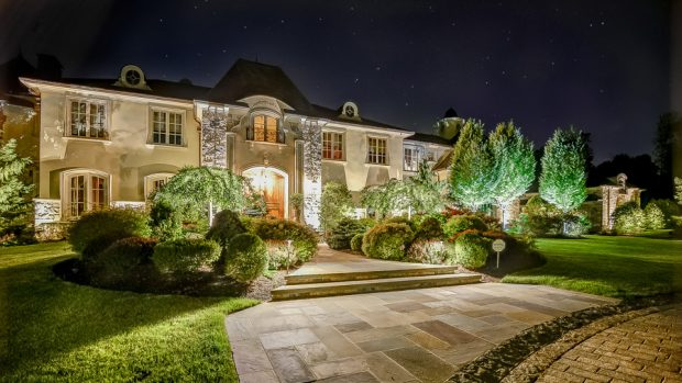 Beautifully Landscaped Entrance to Estate