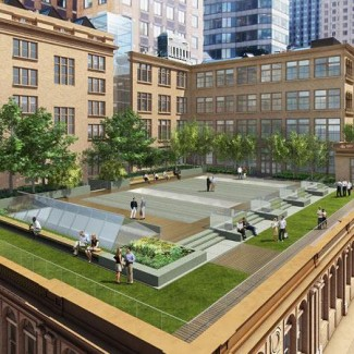 Carnegie Hall Green Roof Design