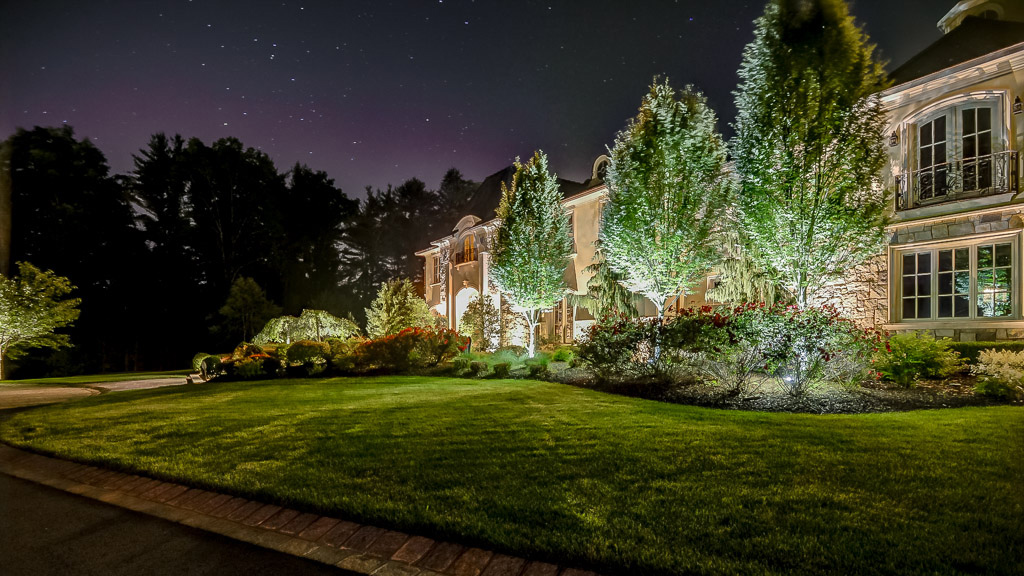 Landscape Lighting Dramatic Outdoors