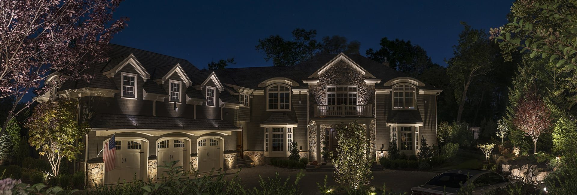 Landscape Lighting - Architectural Lighting - Front of Home