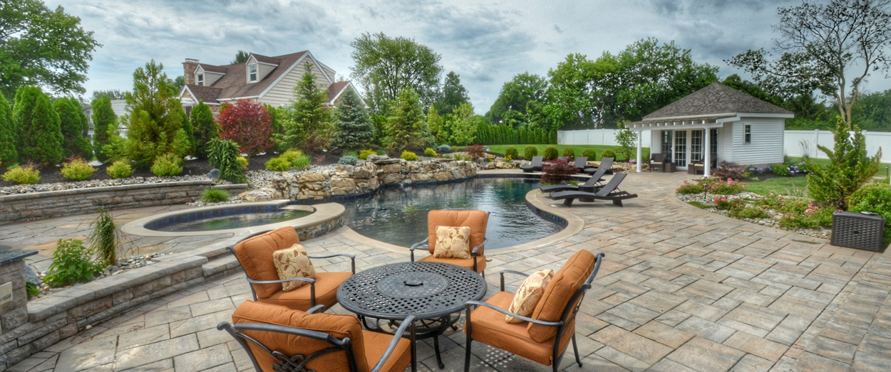 Residential Landscaping Project in Fairfield, NJ with Testimonial
