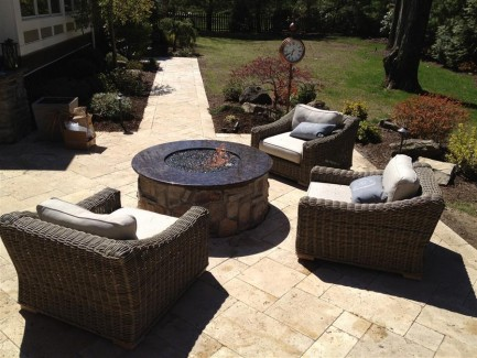 Outdoor Space with Firepit