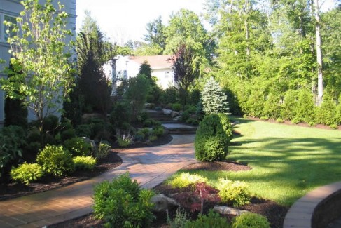 Walkway and Gardens