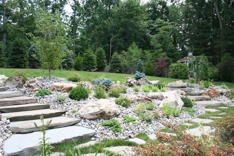 Landscape Desgn Ideas For Stairs And Steps