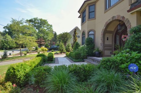 Impeccably Landscaped Front Yard