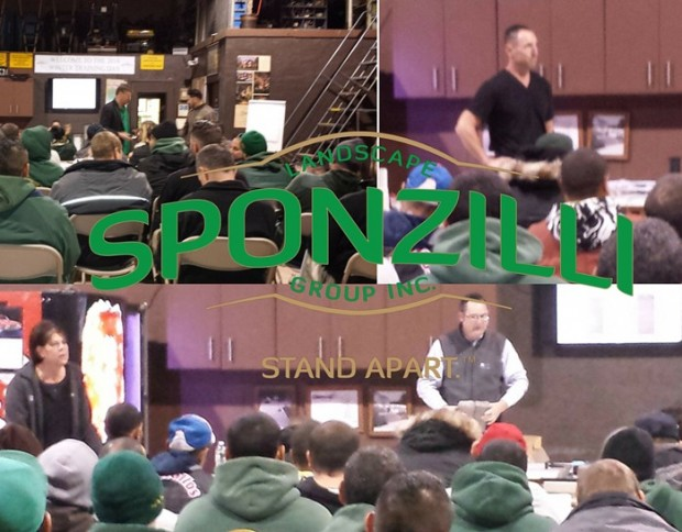 Sponzilli Landscaper Winter Training