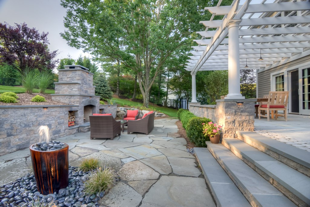 New Outdoor Living Space
