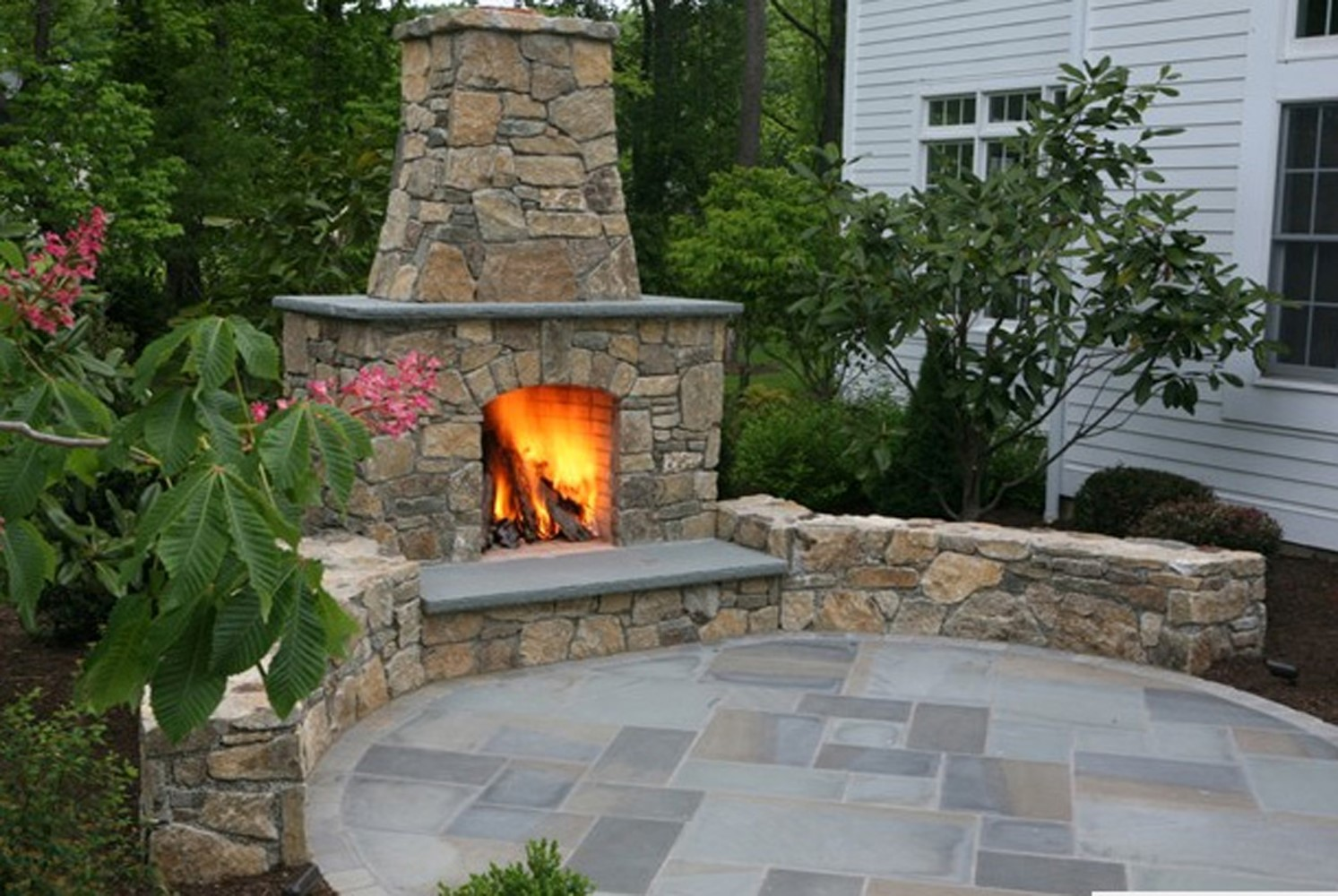 Hardscaping including Patios