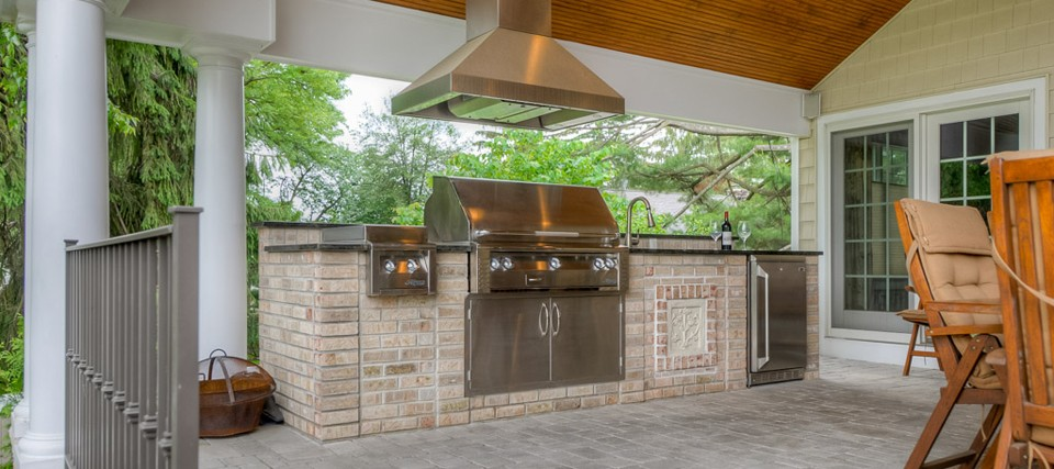 Position Outdoor Kitchen with Easy Access to Indoor Kitchen