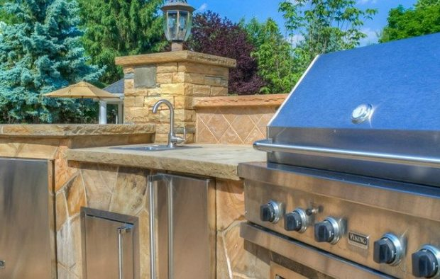 Outdoor Kitchen Designs by Sponzilli