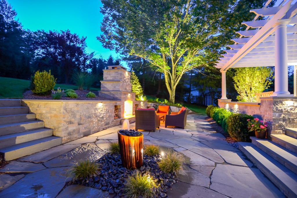 Residential Outdoor Living Space, Morristown, NJ ... on Outdoor Living And Landscapes id=37740
