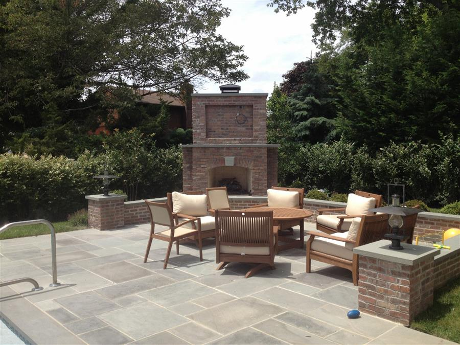 Outdoor living spaces sponzilli landscape group for Outdoor living space plans