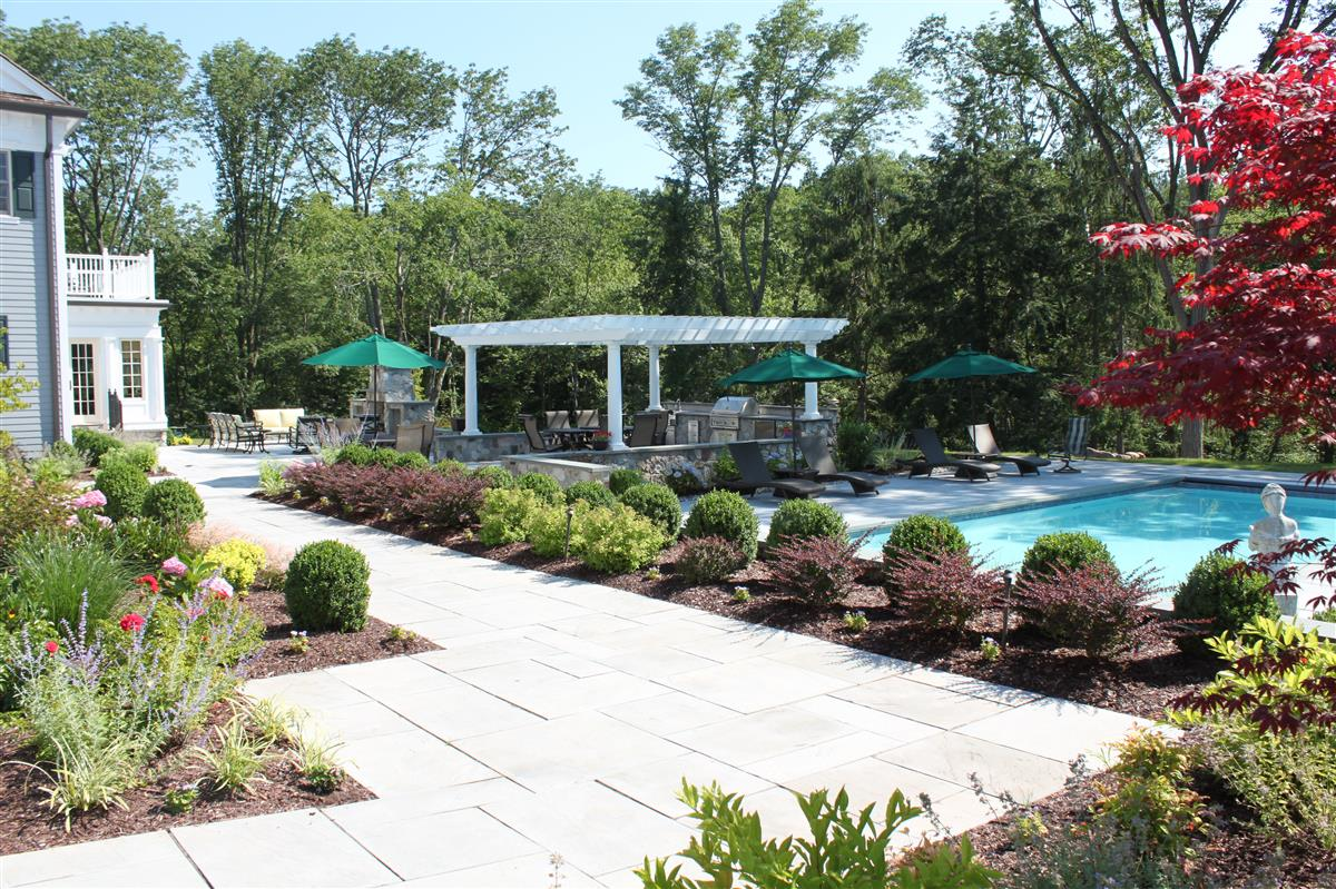residential landscaping harding township nj - Pool Landscaping