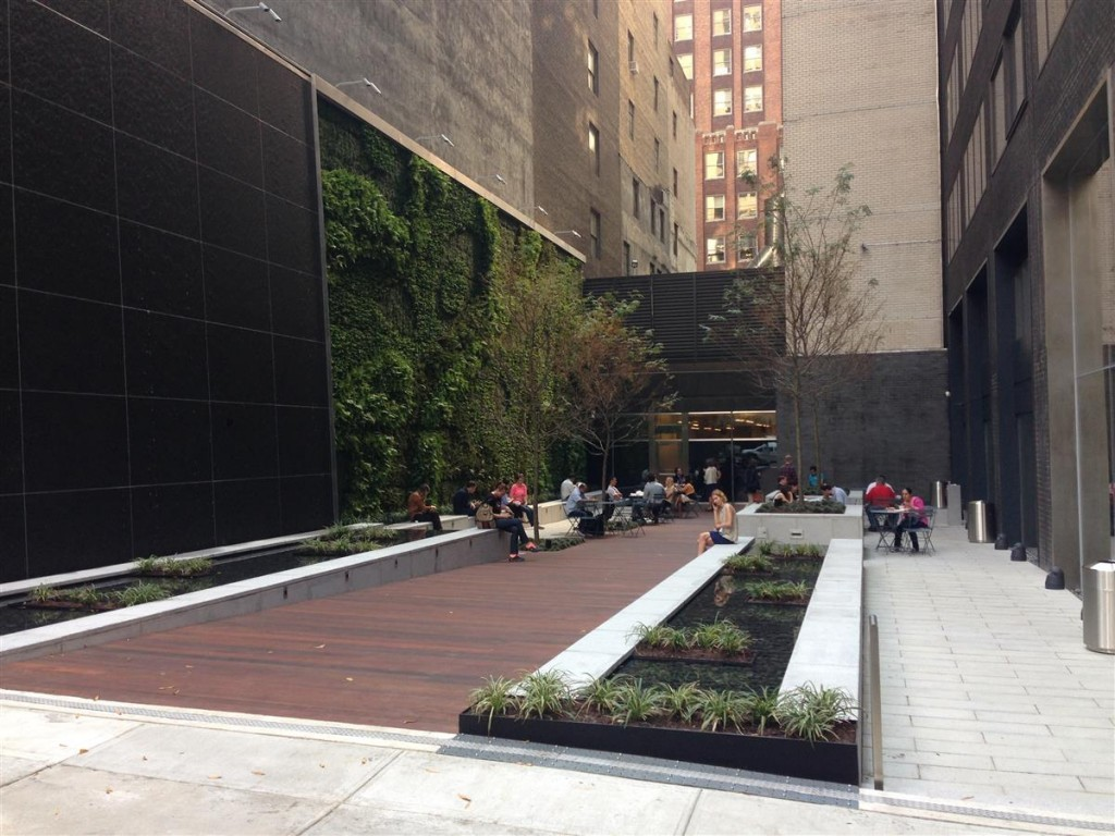 Tiaa Cref Pocket Park Sponzilli Landscape Group