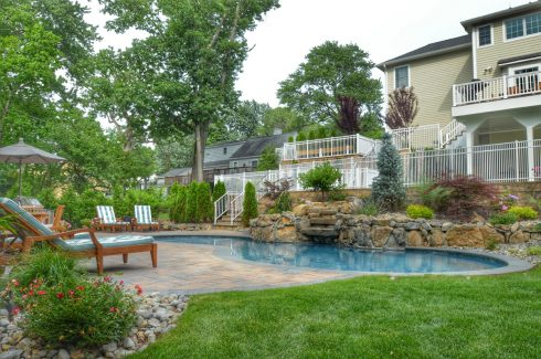 Poolside Deck and Entertaining Area