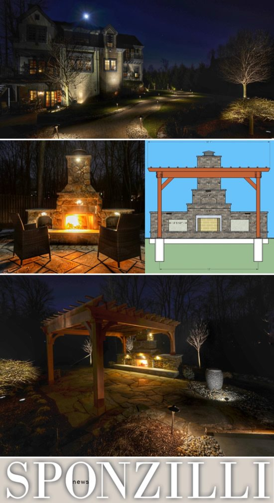 Three Examples of Landscape Lighting