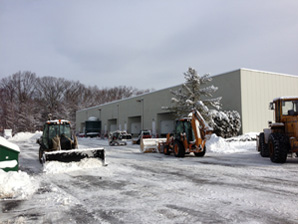 Snow Removal Work at Mack Cali Building