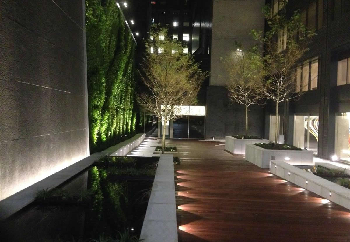 Sponzilli Landscaping Group Tiaa Cref Pocket Park