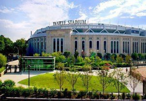 Landscaping at Yankee Stadium